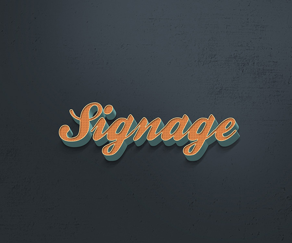 22 Retro Photoshop Text Effect