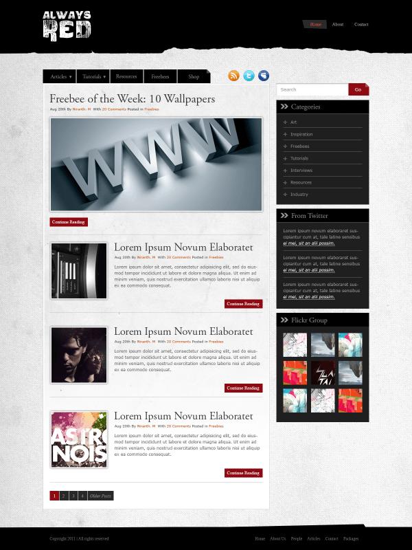 35 amazing photoshop web layout tutorials design slots for Website layout creator