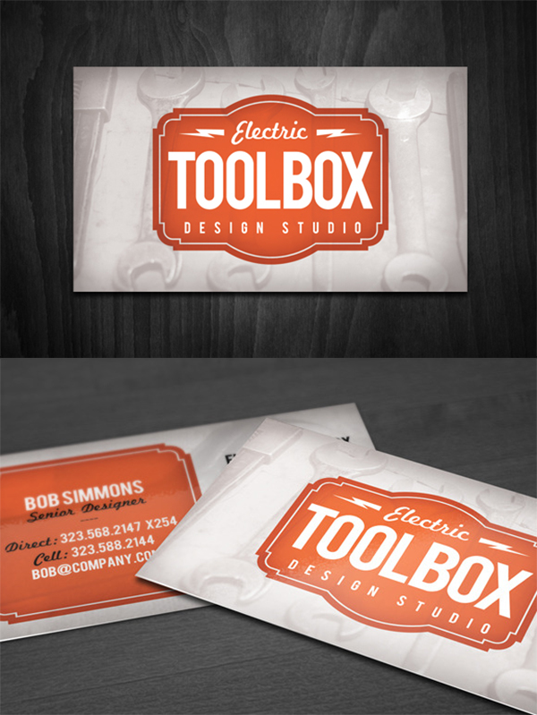 02 Toolbox Business Card Template