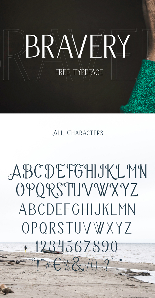 03 Bravery Free Font