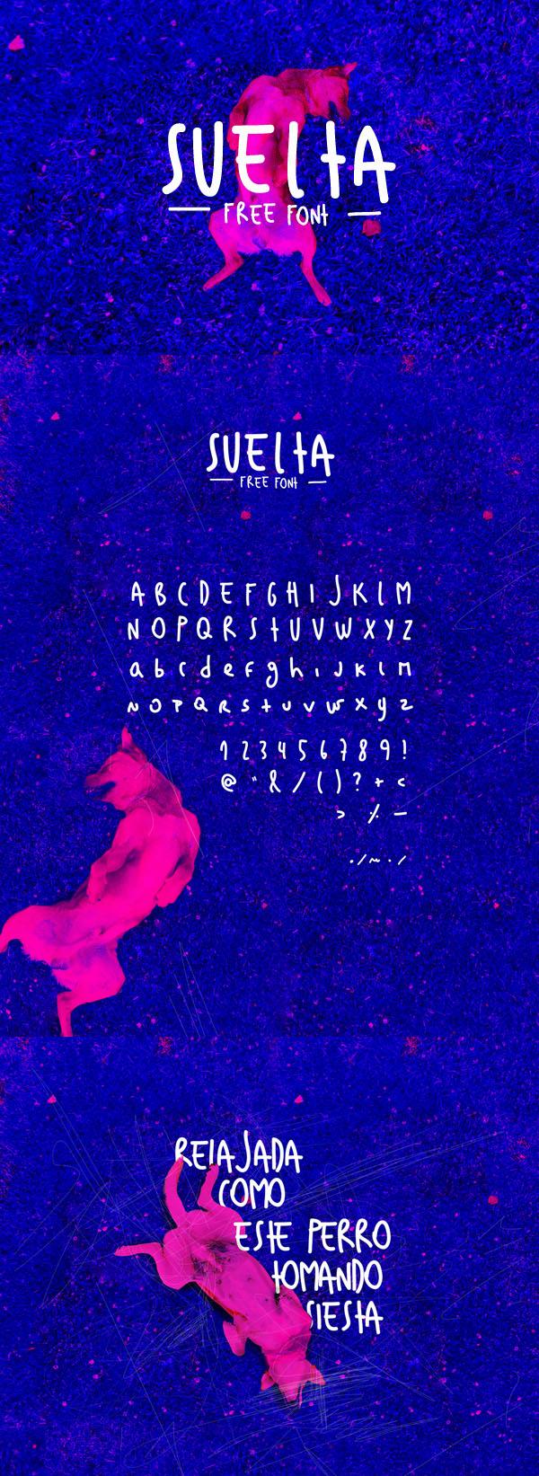 03 Suelta Free Font