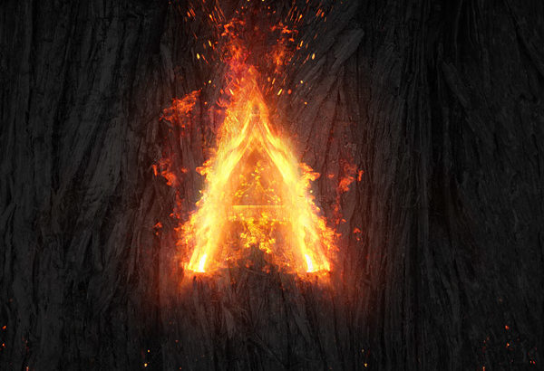 04 Create a Fire Text Effect in Photoshop