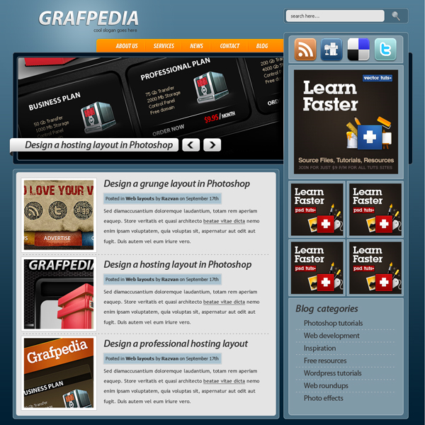 17 How to Make a Creative Blog Layout