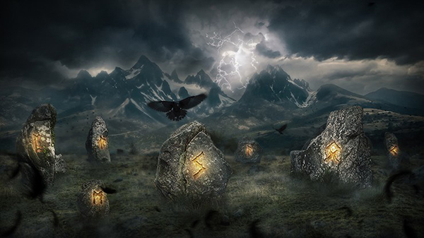 20. Create a Mystical Photo Manipulation of the Great Ragnarok in Photoshop