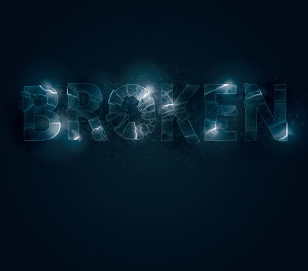21 How to create a shattered glass text effect in Illustrator