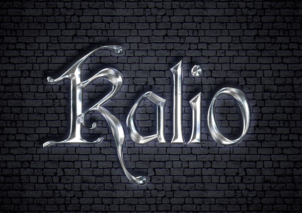 14 How to Create a Medieval Metallic Text Effect in Adobe Photoshop