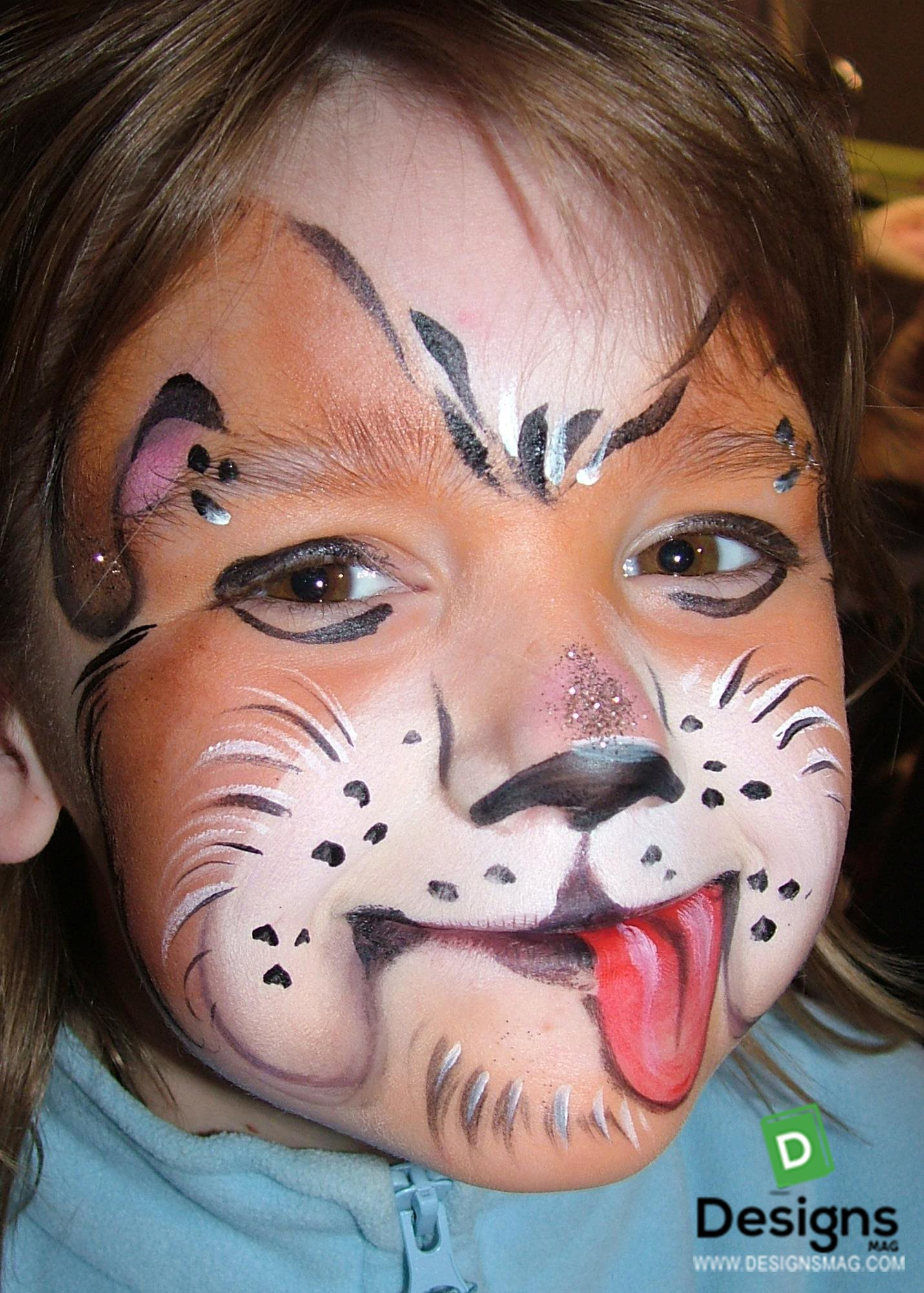 Hund Kinderschminken 75 Easy Face Painting Ideas Face Painting Makeup Page 4