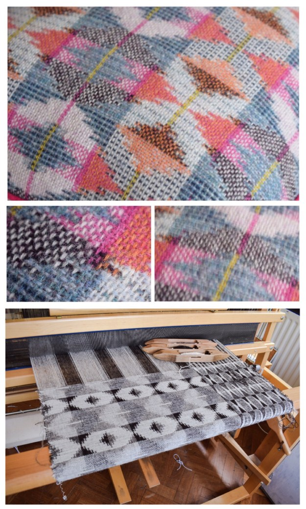 Rowenna Mason Textiles, studio tour and interview