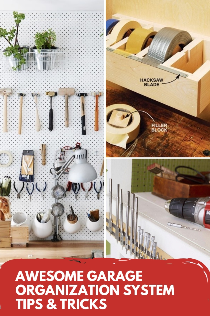 Garage Design Tips Awesome Garage Organization System Tips Tricks
