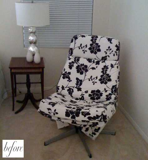 Ikea Lunna Before And After: Jill's Chairs – Design*sponge