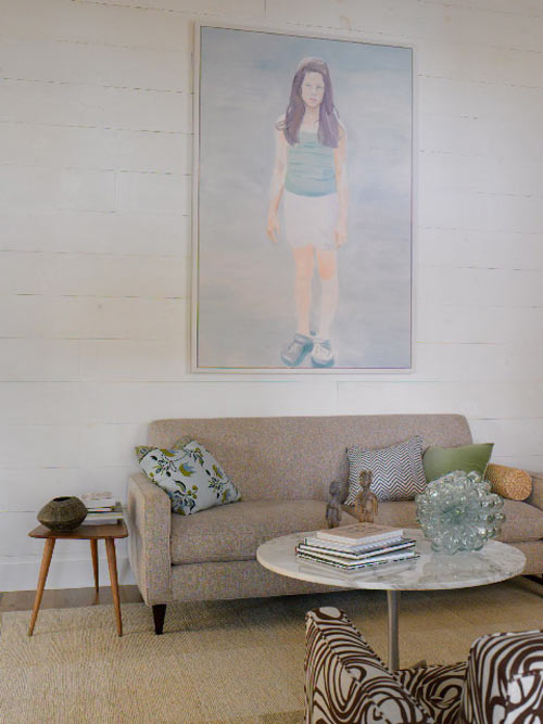 Painting Above Sofa Sneak Peek Best Of: Art Above The Sofa – Design*sponge