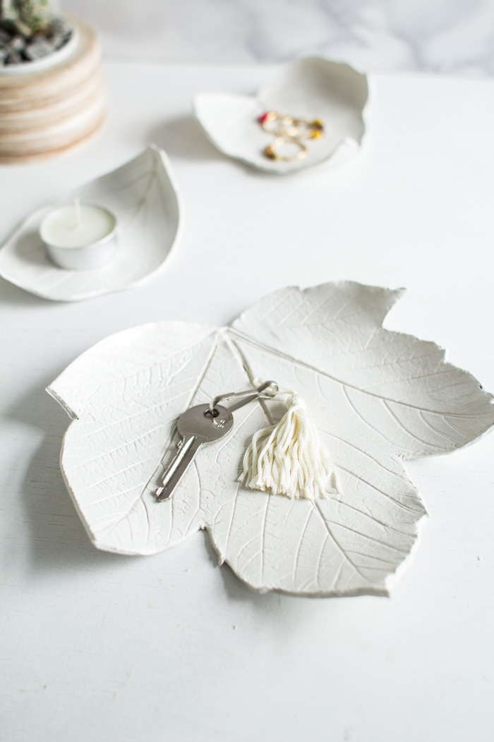 Table Jardin Eucalyptus Diy Leaf Catchall – Design*sponge