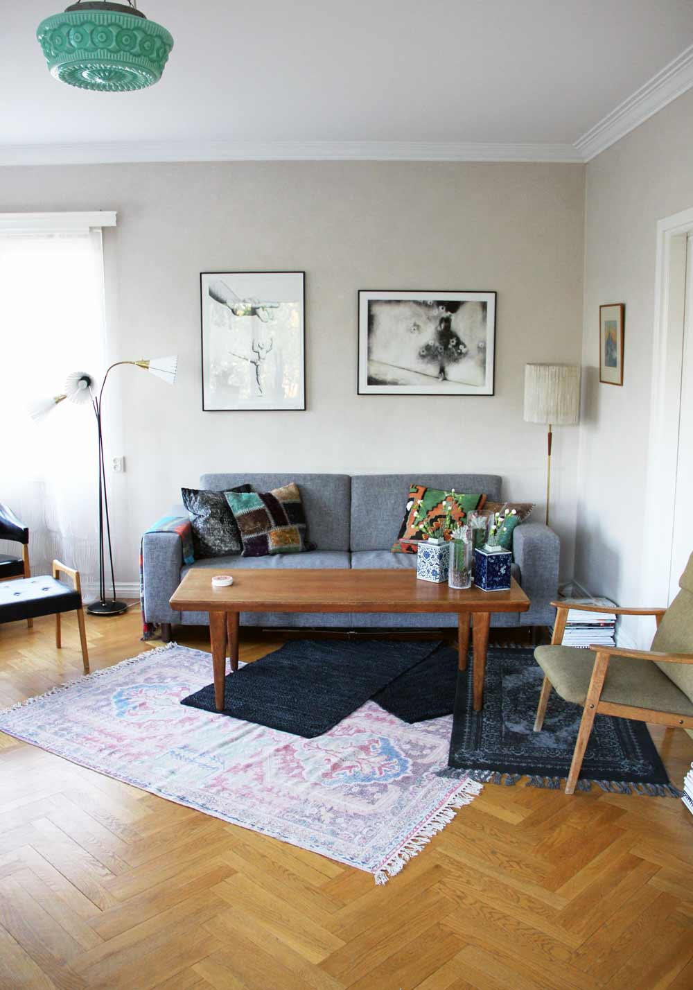 Swedish Living Room A Kurbits Villa Filled With Swedish Folk Art Design Sponge