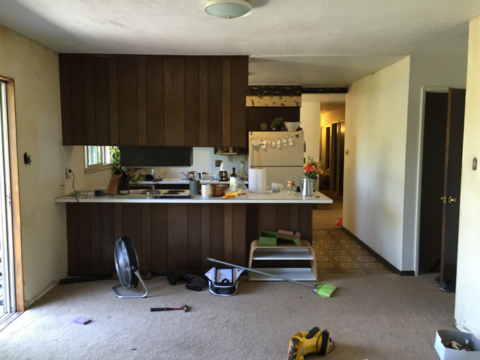 Kitchen Island Wayfair Before & After: A Fixer-upper Gets A New Kitchen In Denver