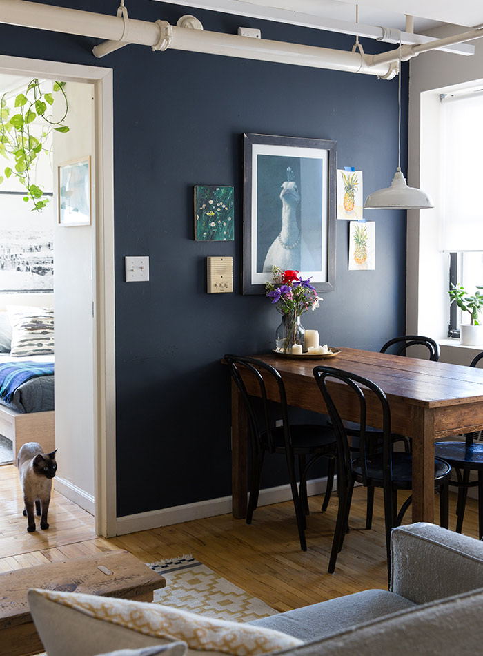Painted Vs Stained Kitchen Cabinets Paint It Black: 15 Bold And Beautiful Dark Walls – Design