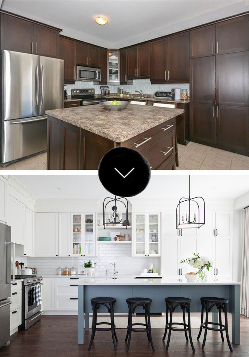 Before After Creating A Functional Healing Kitchen In Milton Ontario Design Sponge