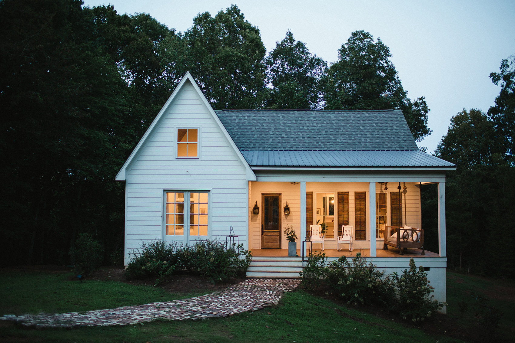 Narrow Farmhouse Exterior A Mississippi Home That Gave New Life To An Old Farmhouse