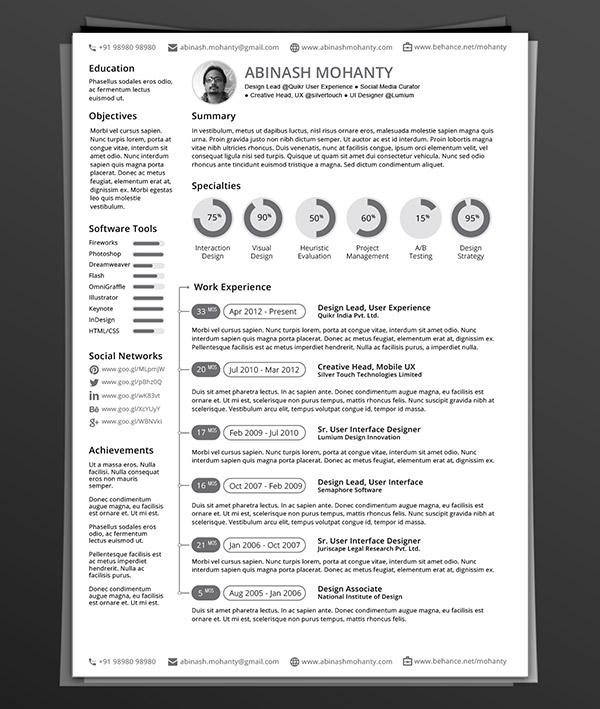 indesign sample resume resume indesign 23486 download resume for adobe indesign resume template - Adobe Resume Template