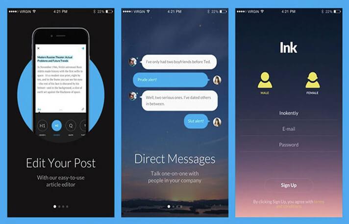 70 Responsive Chat UI Designs for Mobile App Designers