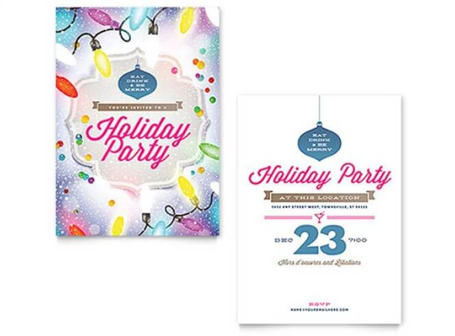 32+ Beautiful Invitation Flyer Templates Download - invitation flyer template