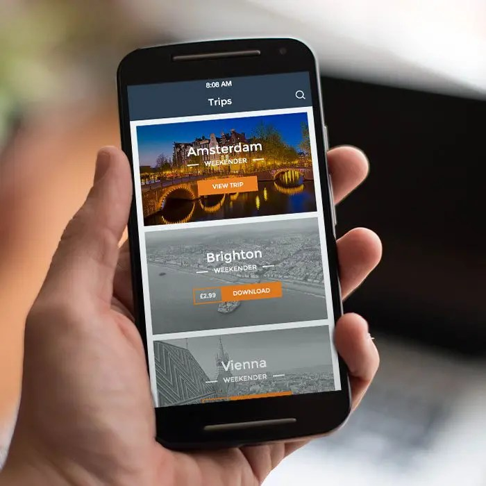 iOS  Android App UI Design, Brighton - Design Superheroes