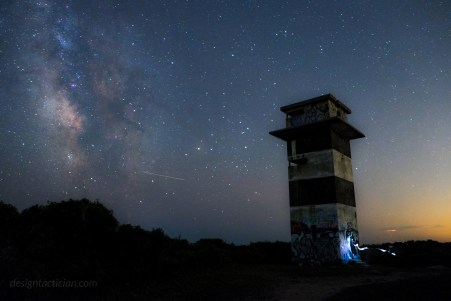 Perseid Meteor Shower – Gooseberry Island, Westport, MA