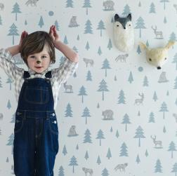 Hibou_Home_Into_The_Wild_wallpaper_HH00602_Grey_Storm_Green_kids_large