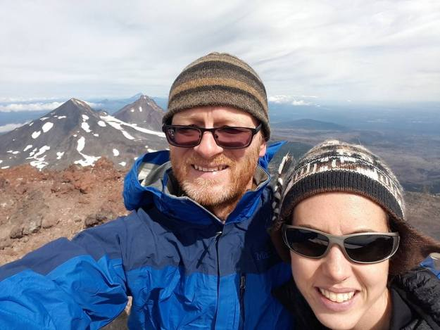 South Sister Summit selfie