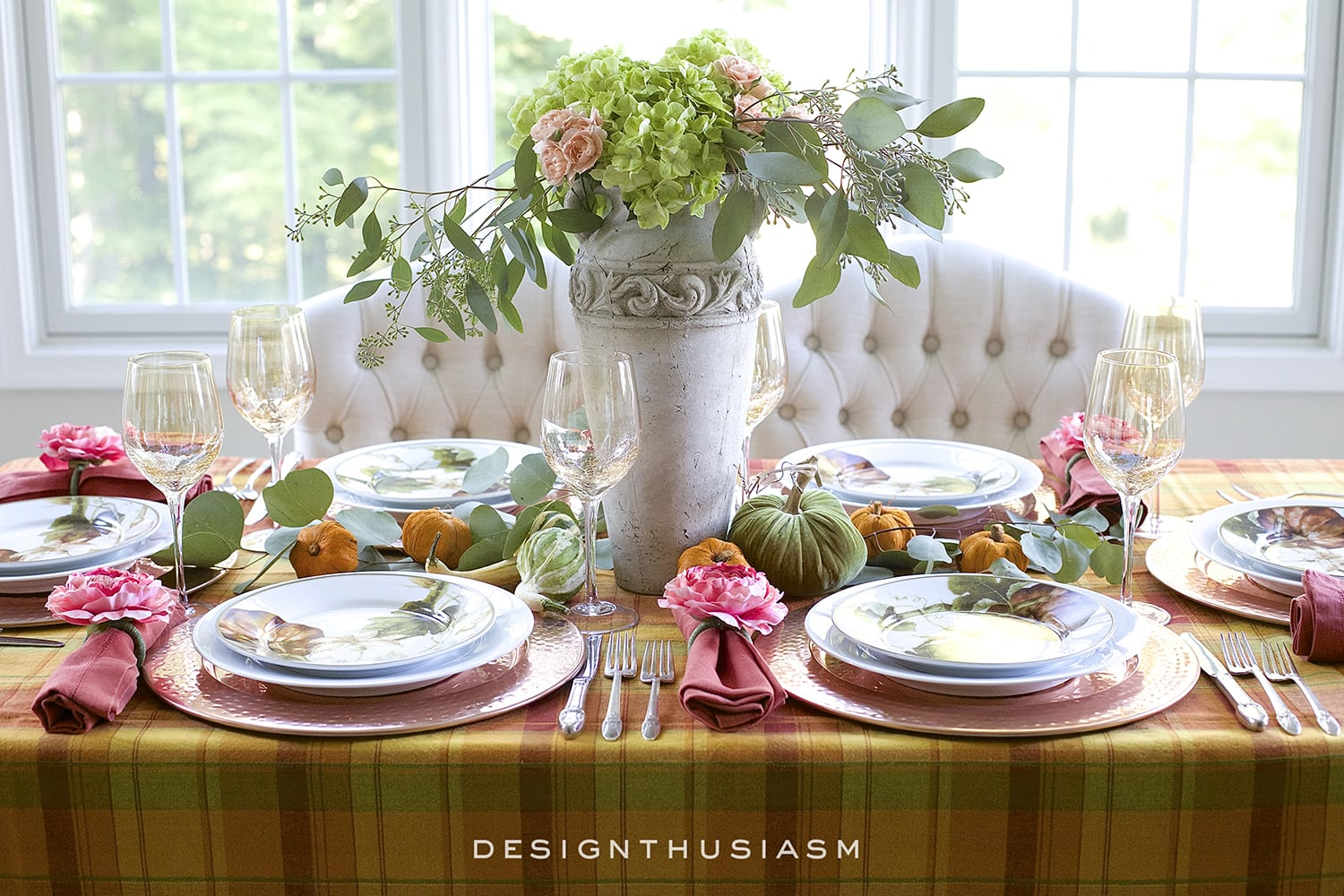Fall Tablescape How To Add A Pretty Twist To An Autumn Color Palette