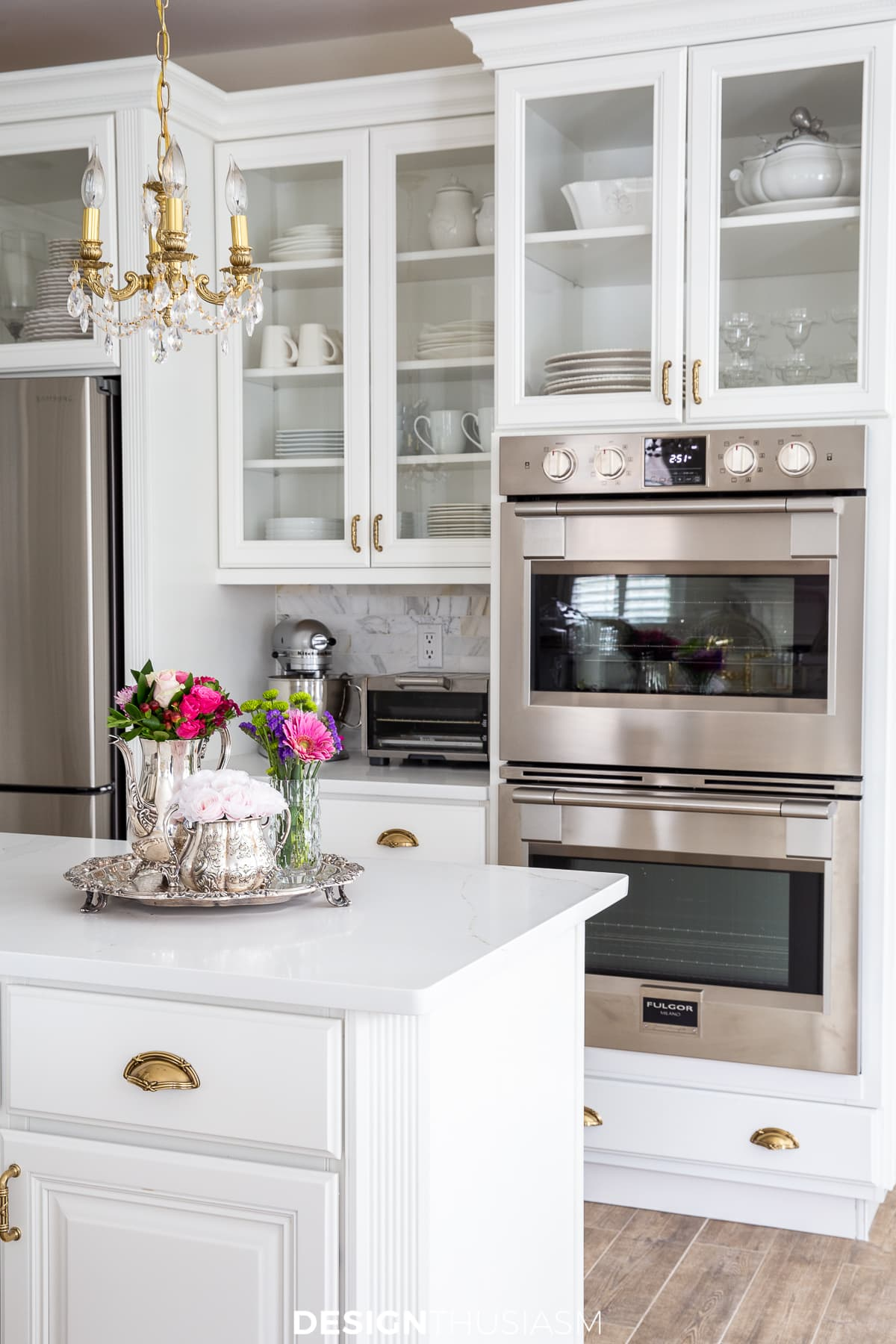 White Kitchen Remodel Painting Kitchen Cabinets Simplify A Renovation
