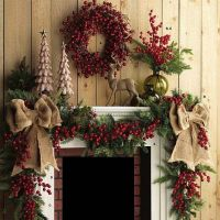 2016 Christmas Mantel Decorating Ideas