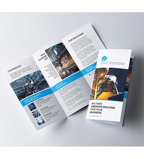 3 Fold Brochure (6 Leaf Page)