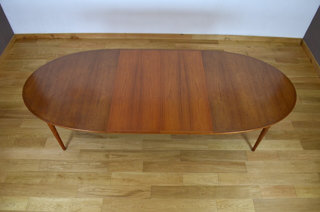 Grande Table Scandinave Grande Table Scandinave En Teck Design Arne Vodder Edité Par
