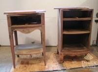 wooden nightstand plans
