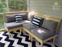 DIY Modular Patio Furniture (because buying furniture ...