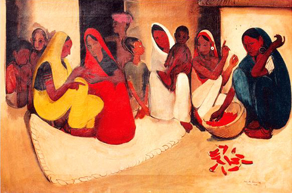 Gil Design Badass Lady Creatives [in History]: Amrita Sher-gil