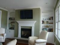 AFTER: living room built ins | design work and portfolio ...