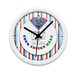 Small Of Boys Wall Clock