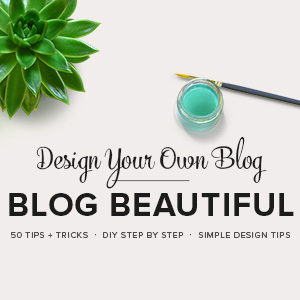 Turn your blog from ugly to lovely with this fabulous self-paced course in an eBook