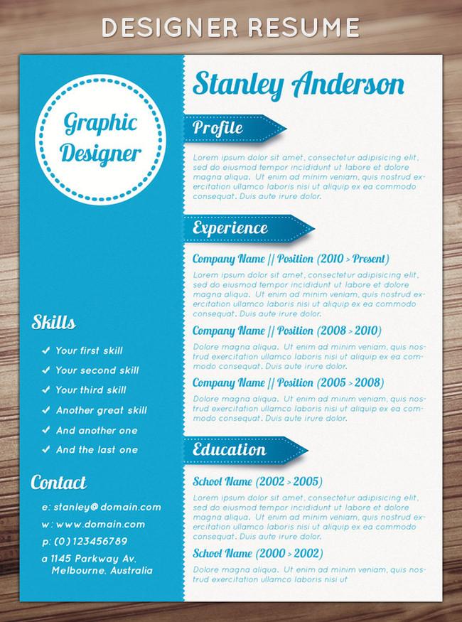 designer resume - Josemulinohouse