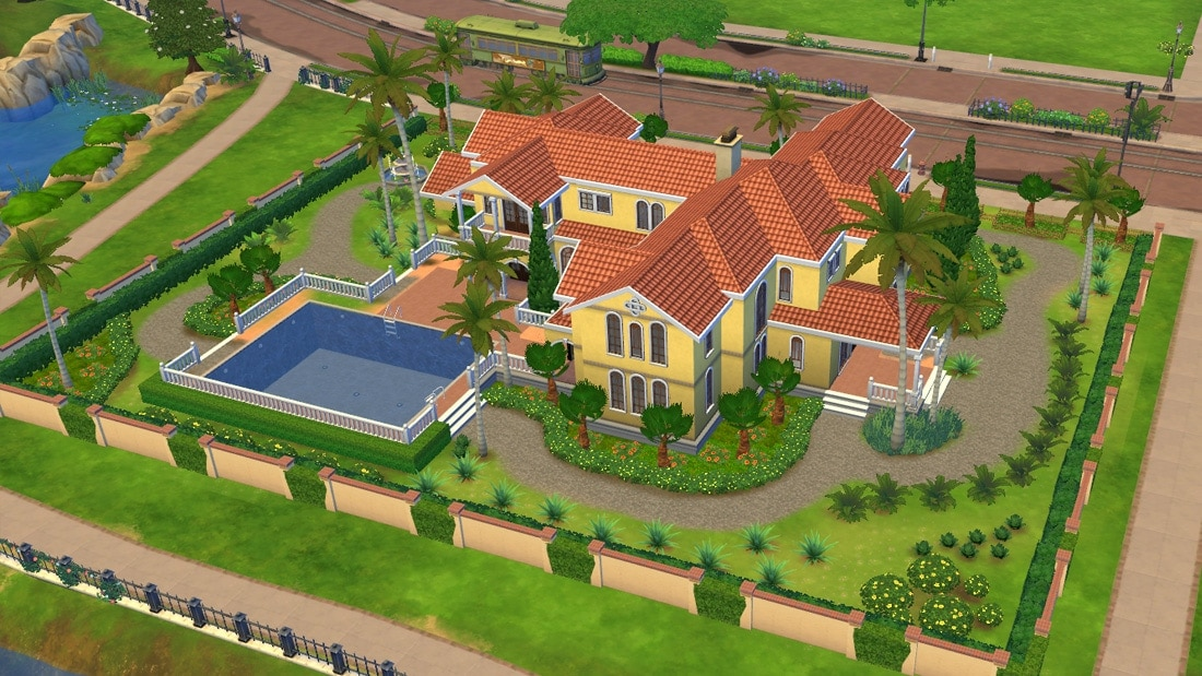 Sims Freeplay Zwembad In De Tuin Sims 4 Download: Huis Casa Grandiosa | Sims 4