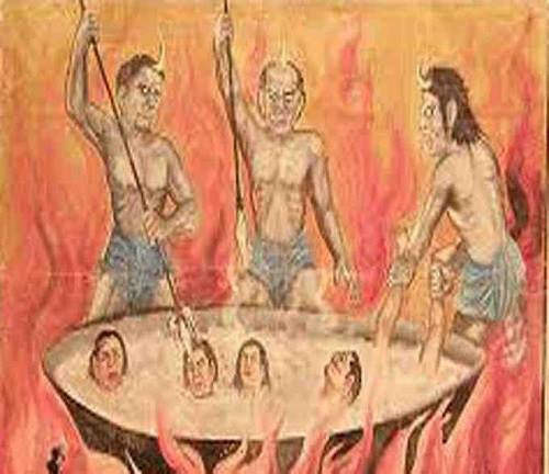 28 Deadly Punishments Mentioned in Garuda Puran of Hinduism -1
