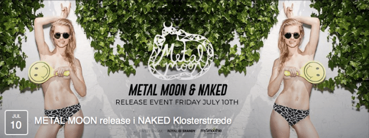 metal moon x naked
