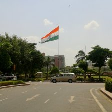 Largest National Flag of India -Connaught Place New Delhi