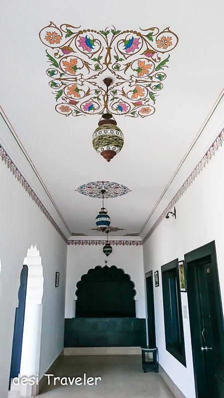 Rangoli Frescoes In Rajasthan