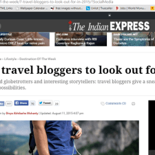 Top Travel Blog Lists from India