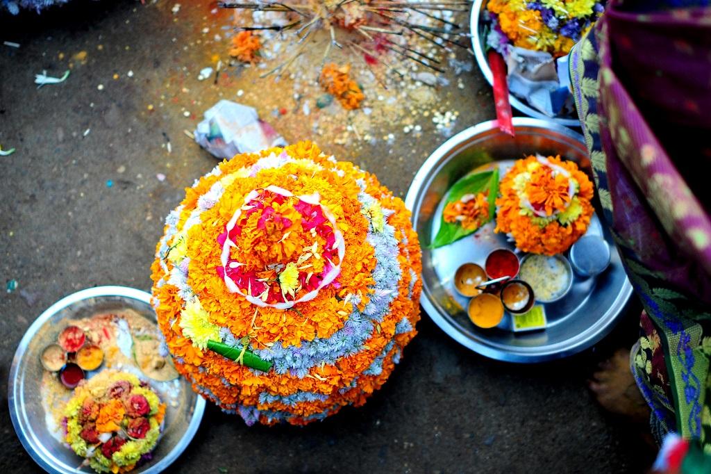 Bathukamma Flower Festival Telangana