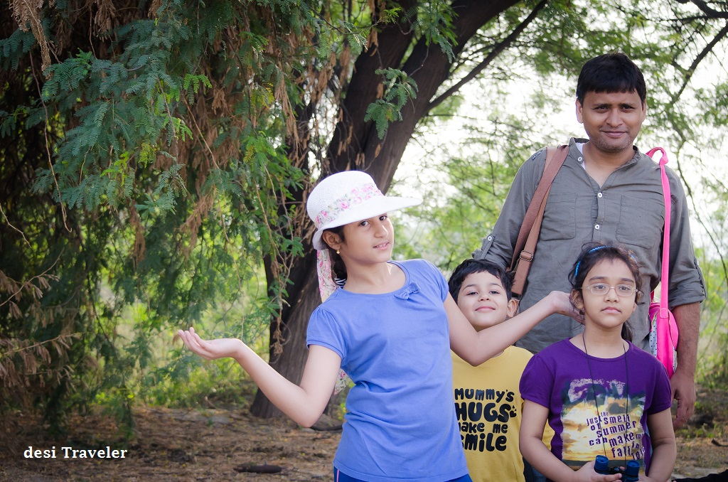 Kids Birding Sultanpur Bird Sanctuary Gurgaon