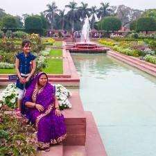 A Visit To Mughal Garden Rashtrapati Bhawan Delhi