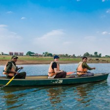 Birding on a Canoe Ride in Satpura National Park